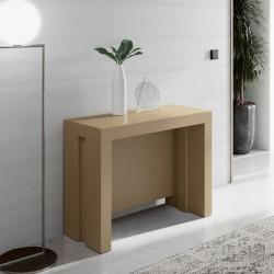 Mesa consola corvertible con 5 tableros