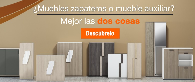 Muebles zapateros o muebles auxiliares